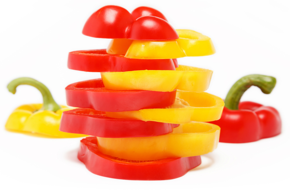 Slices of Bell Peppers